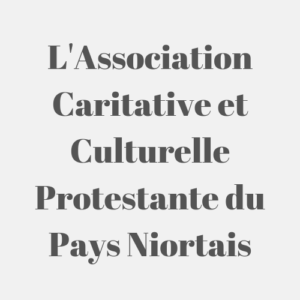 L'Association Caritative et Culturelle Protestante du Pays Niortais